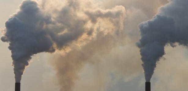 As emissões de gás carbônico culminaram em 30,6 gigatoneladas (Gt) 2010, crescimento de 5% em relação a 2008