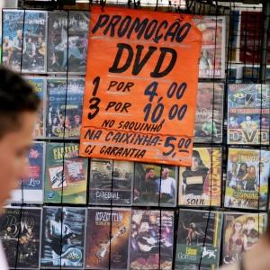 Mais da metade dos entrevistados acha que não será punido ao comprar CD ou DVD pirata