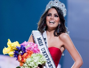 Jimena Navarrete, a Miss Universo 2010