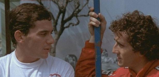 Senna e Prost protagonizaram uma das maiores rivalidades da F-1