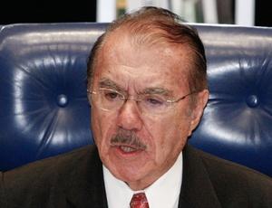 O presidente do Senado, José Sarney (PMDB-AP)