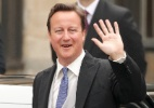David Cameron, primeiro-ministro do Reino Unido