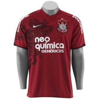 7f91d3e315dee Terceira camisa do Corinthians para temporada 2011 é vinho e tem estampa de São  Jorge