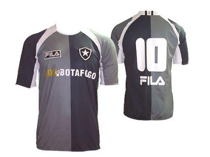 caff5d4b86 Camisa cinza usada pelo Botafogo em 2009  modelo alvo de críticas dos  torcedores