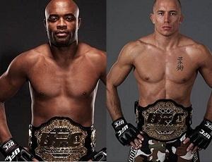 Anderson Silva e Georges St-Pierre são considerados os dois melhores lutadores da atualidade