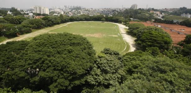 Vista geral da Chácara do Jockey Club, no Butantã, em São Paulo (SP)