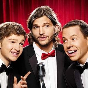 Angus T. Jones, Ashton Kutcher e Jon Cryer em novo cartaz de Two and a Half Men