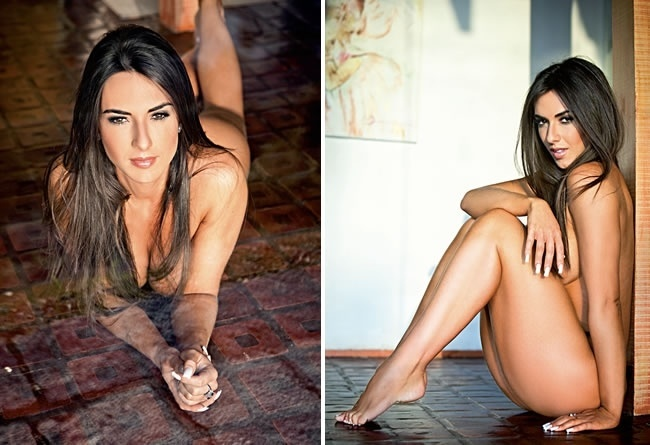 "Panicat Nicole Bahls posa para ensaio da revista ""Maxim"""