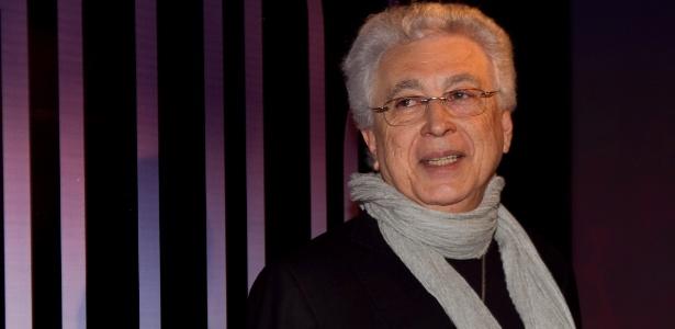 Autor Aguinaldo Silva na festa da nova novela da rede Globo, 'Fina Estampa'