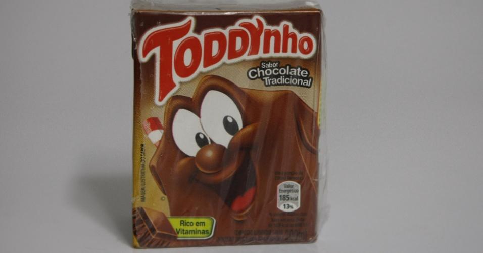 Caixa embalagem do achocolatado Toddynho