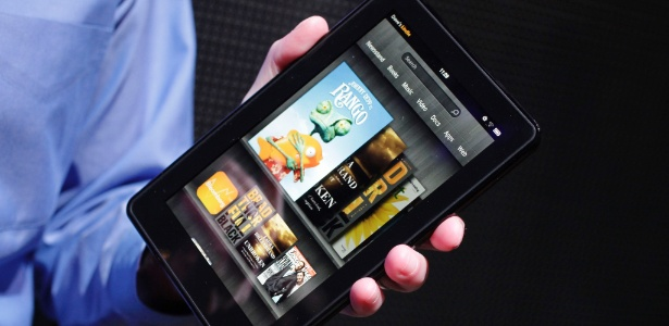Kindle Fire é aposta de vendas da Amazon para o fim de ano nos EUA; tablet custará US$ 199