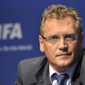 Jérôme Valcke demonstrou impaciência com preparativos da Copa e fez duras críticas ao Brasil