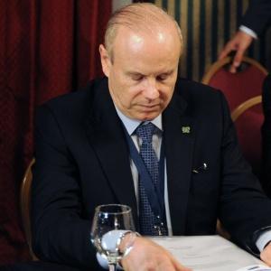 Guido Mantega, ministro da Fazenda, pode ter que dar explicações sobre a demissão do presidente da Casa da Moeda, Luiz Felipe Denucci