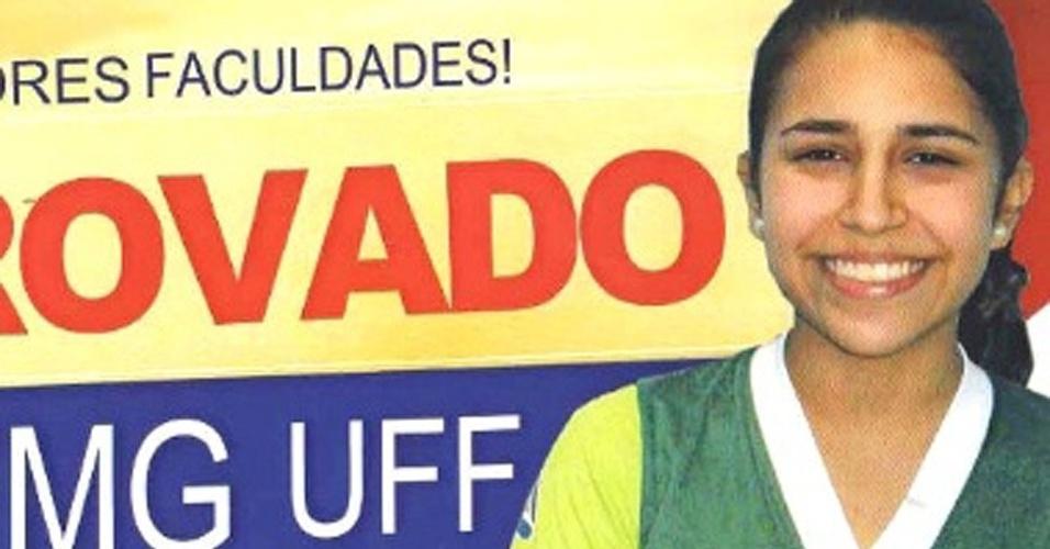 A mineira Mariana Silva Vilas Boas, 19, foi aprovada em oito instituições públicas para o curso de medicina