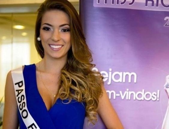 Representante de Passo Fundo, Vitória Centenaro, é eleita miss RS