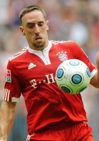 Franck Ribéry, meia do Bayern de Munique, quer Real ou Barcelona