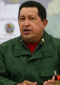 Presidente venezuelano, Hugo Chávez