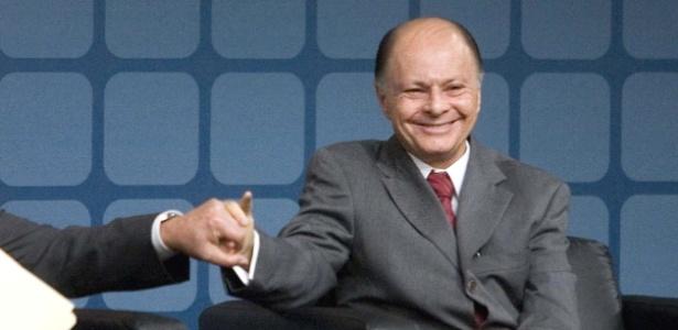 Bispo Edir Macedo, fundador da Igreja Universal do Reino de Deus e dono da TV Record (27/9/2007)