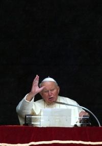 O papa João Paulo 2º