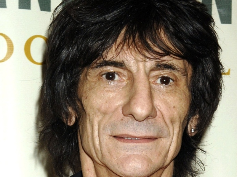 Ronnie Wood, guitarrista dos Rolling Stones