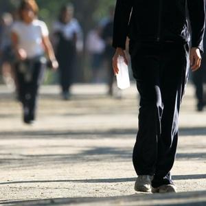 Caminhar em ritmo acelerado três vezes por semana faz o cérebro aumentar, segundo o estudo - Moacyr Lopes Júnior/Folha Imagem
