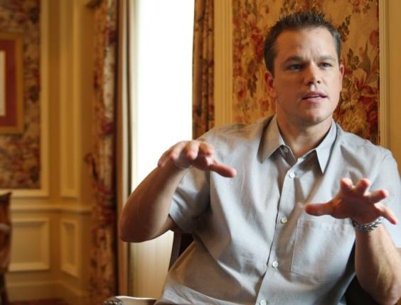 O ator americano Matt Damon