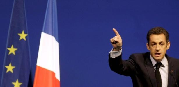 O presidente francês Nicolas Sarkozy, que afirmou que manterá as reformas econômicas