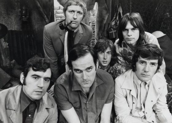 Grupo britânico de humor Monty Python em 1969 - AP/IFC - 1969
