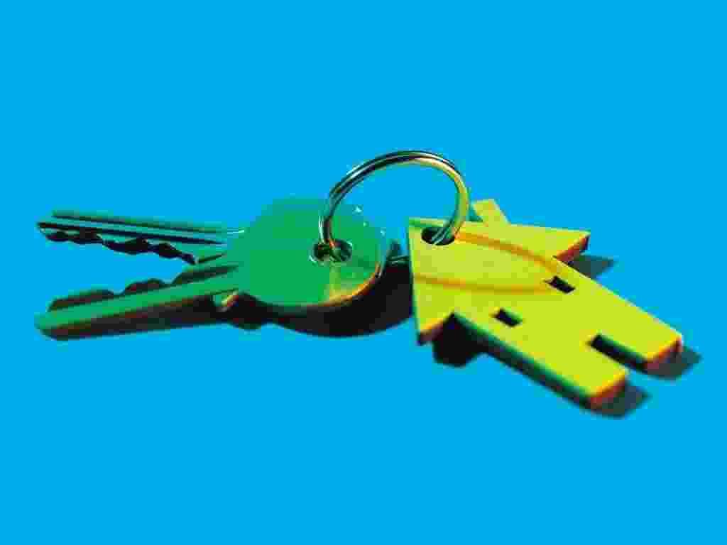 Mídia Indoor, economia, cotidiano, casa própria, fgts, empréstimo, setor imobiliário, imóveis, imóvel, chaveiro, compra, moradia, casa, chave - Getty Images