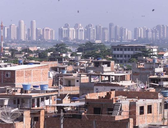 Cidade de Deus, favela da zona oeste do Rio. Crédito: Folha Imagem