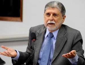 O ministro de Relações Exteriores, Celso Amorim