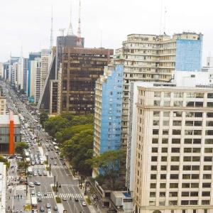 Vista da avenida Paulista, em São Paulo (SP), um dos principais símbolos da capital paulistana (22/jan/2009)