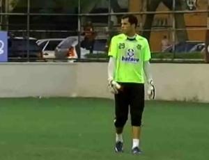 Marcelo Lomba já espera renovar contrato com o Fla