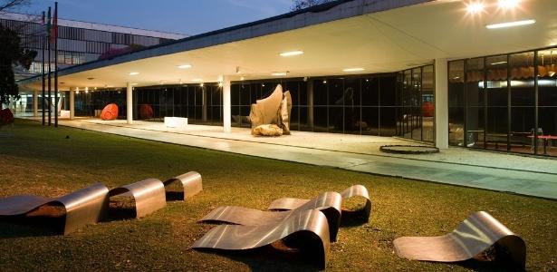 Fachada do Museu de Arte Moderna de São Paulo (MAM-SP), no Parque Ibirapuera - Tuca Vieira/Folha Imagem