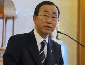 Ban Ki-moon é o secretário-geral da Organização das Nações Unidas e pede ajuda para o Paquistão