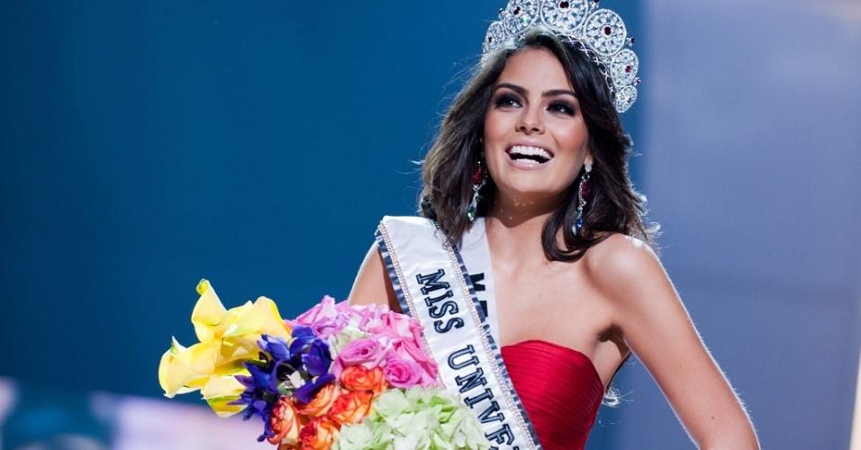 Mídia indoor, wap: Mexicana Jimena Navarrete Rosete, eleita a Miss Universo 2010