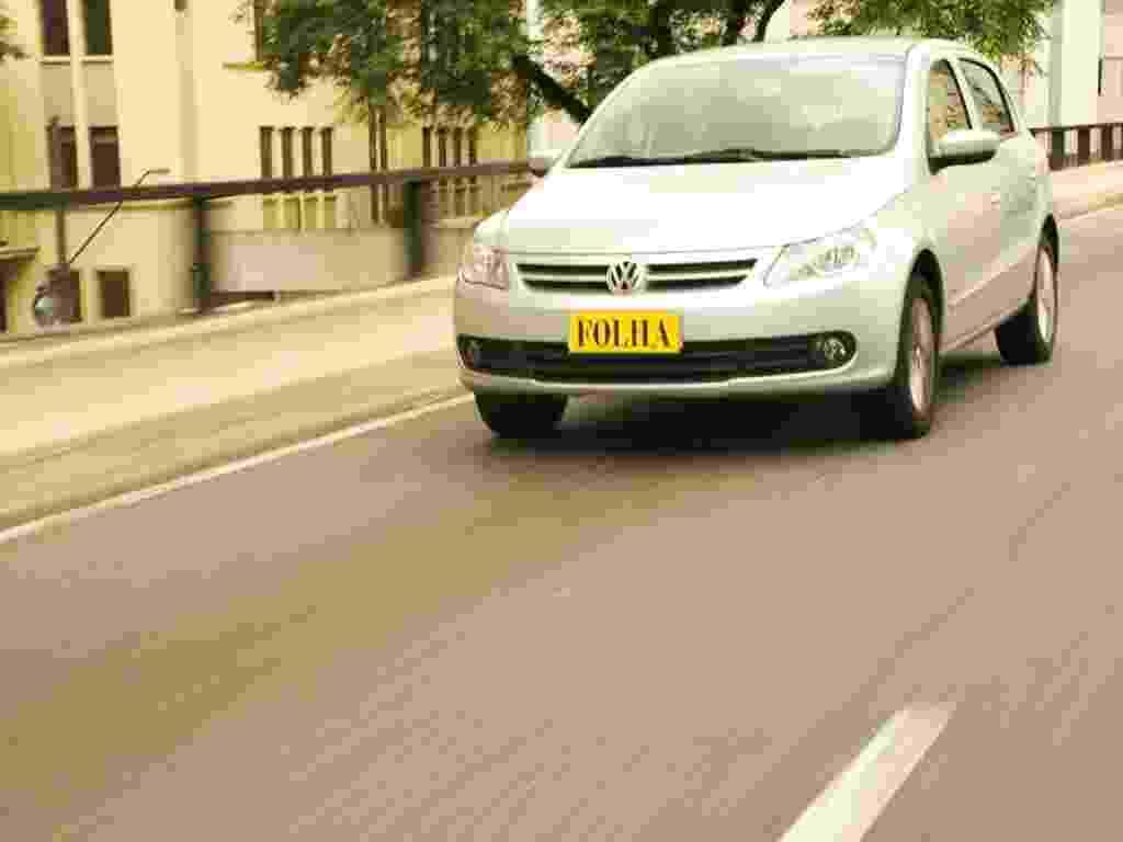 Mídia indoor, wap: Gol, Volkswagen, carro, veículo, montadora, teste, automóvel, test drive - Flavia Lopes/Folhapress