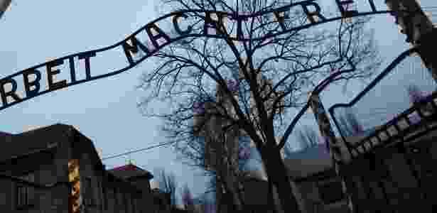 O campo de concentração Auschwitz-Birkenau, na Polônia, onde milhares de judeus foram exterminados pelo nazismo - Valery Hache/AFP