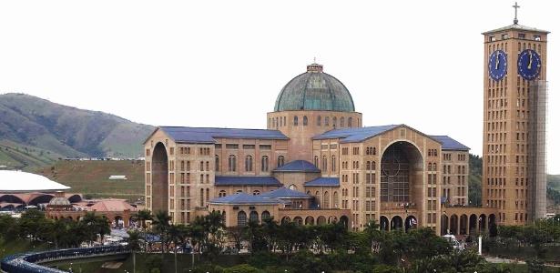 Santuário Nacional de Nossa Senhora, em Aparecida do Norte (SP)