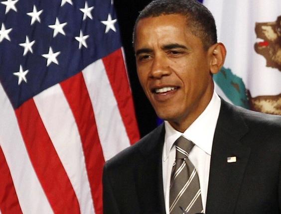Barack Obama, presidente dos EUA, que inspirou o livro mais grosso do mundo, com 5.472 páginas - Kevin Lamarque/Reuters