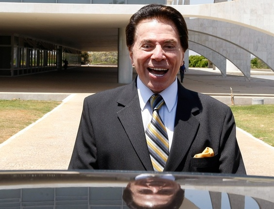O apresentador e dono do SBT Silvio Santos (2010)