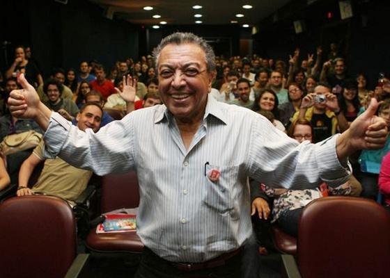 Mauricio de Sousa durante o evento de quadrinhos Rio Comicon (14/11/2010) - Ricardo Cassiano/UOL