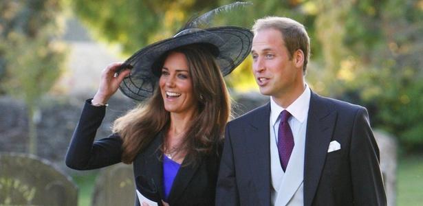 Kate Middleton, a noiva do príncipe William, não tem origem nobre como Lady Di, que era filha de um visconde e descendente de um barão britânico - AP