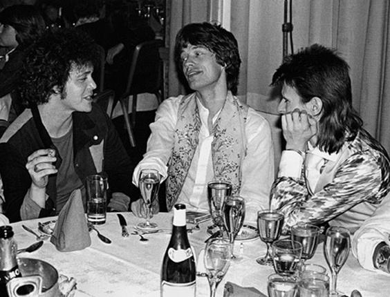 Wap: Rolling Stones, Lou Reed, Mick Jagger, David Bowie, Mick Rock