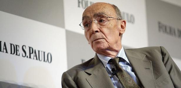 José Saramago, autor português vencedor do Prêmio Nobel de Literatura  - Folhapress