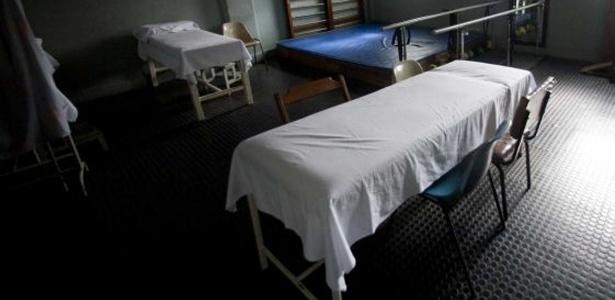 Leitos em sala fechada do Hospital Central Sorocabana - Fernando Donasci/UOL