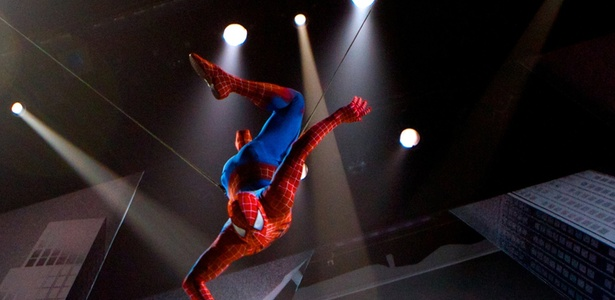 Musical do Homem-Aranha bate recorde histórico na Broadway - The O and M Co., Jacob Cohl/AP
