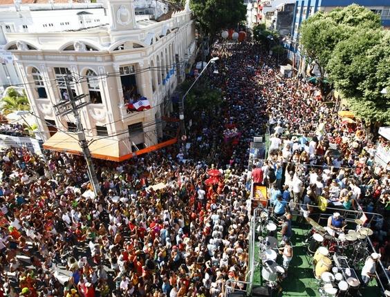 Cena do Carnaval de Salvador, em 2011