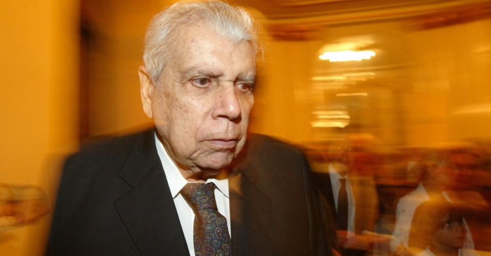 O empresário Antonio Ermírio de Moraes