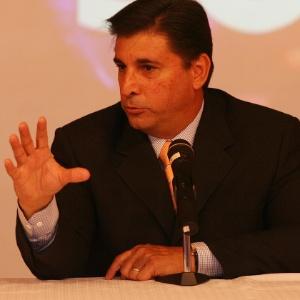 Jornalista Carlos Nascimento, apresentador do Jornal do SBT